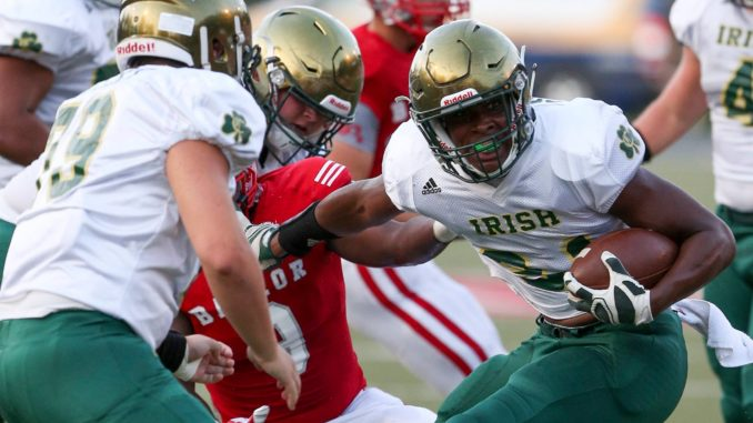 Powerful Knoxville Catholic Rolls Over Baylor 56 24 Knoxville