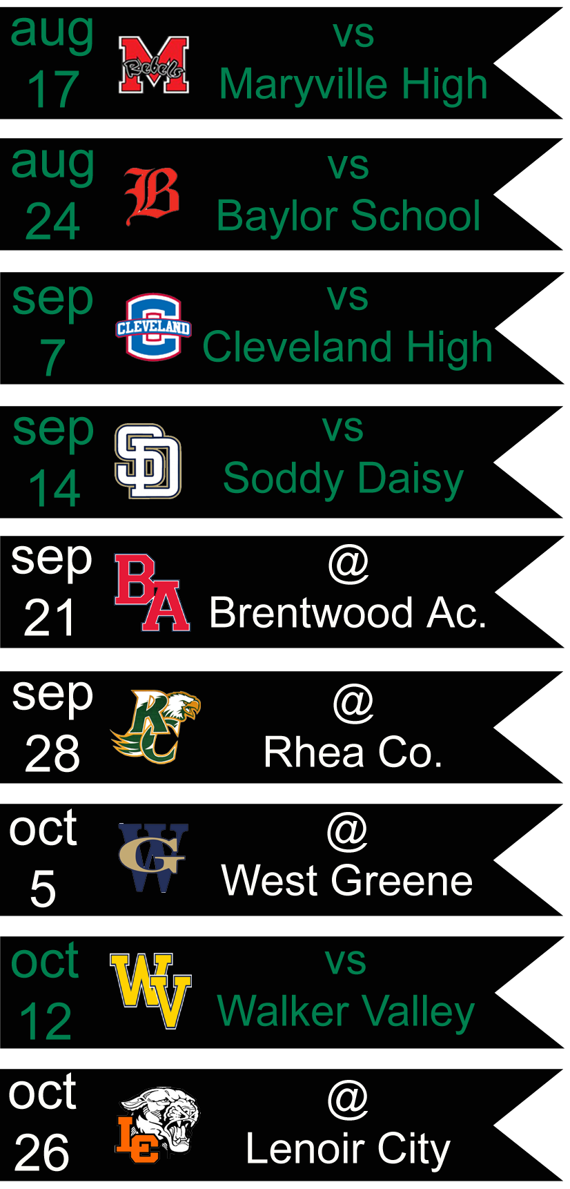 Football Schedule 2018 Knoxville Catholic High Football